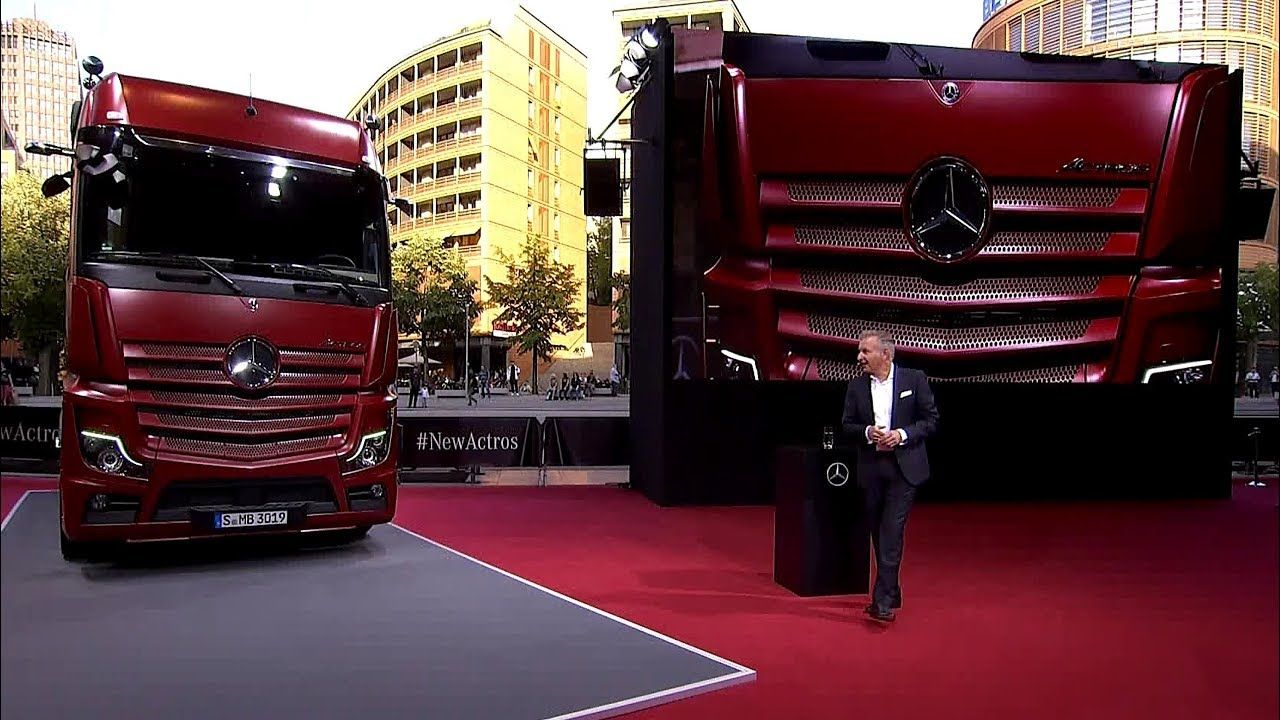2019 Mercedes Benz Actros Truck Revealed Caminhoes Tunados