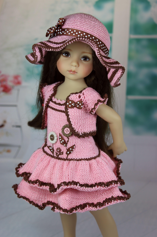 Pin de Emma Marsh en Knit/crochet for dolls | Pinterest | Muñecas ...