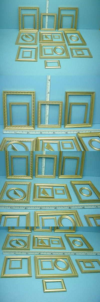 Home Decor: Dollhouse Miniature Picture Frame Assortment (19 ...