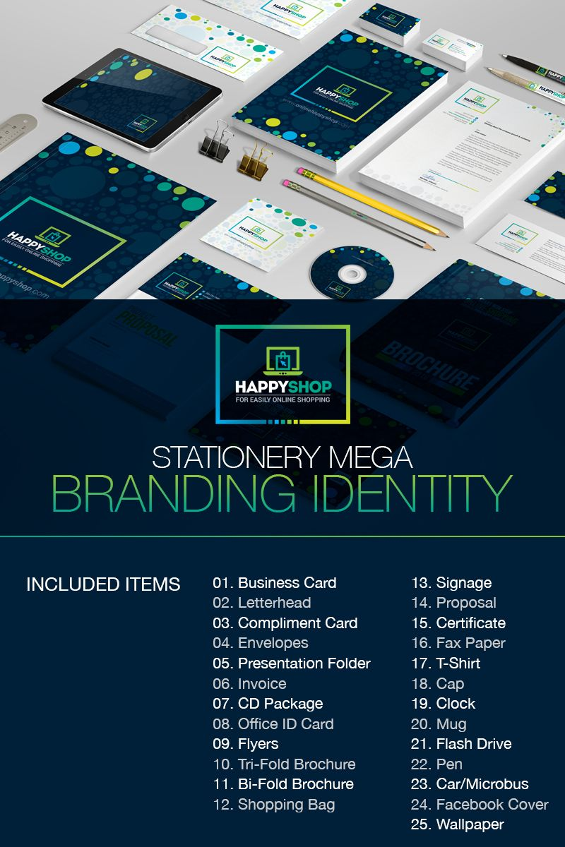 Business Mega Branding Bundle For E Commerce Or Online Shop