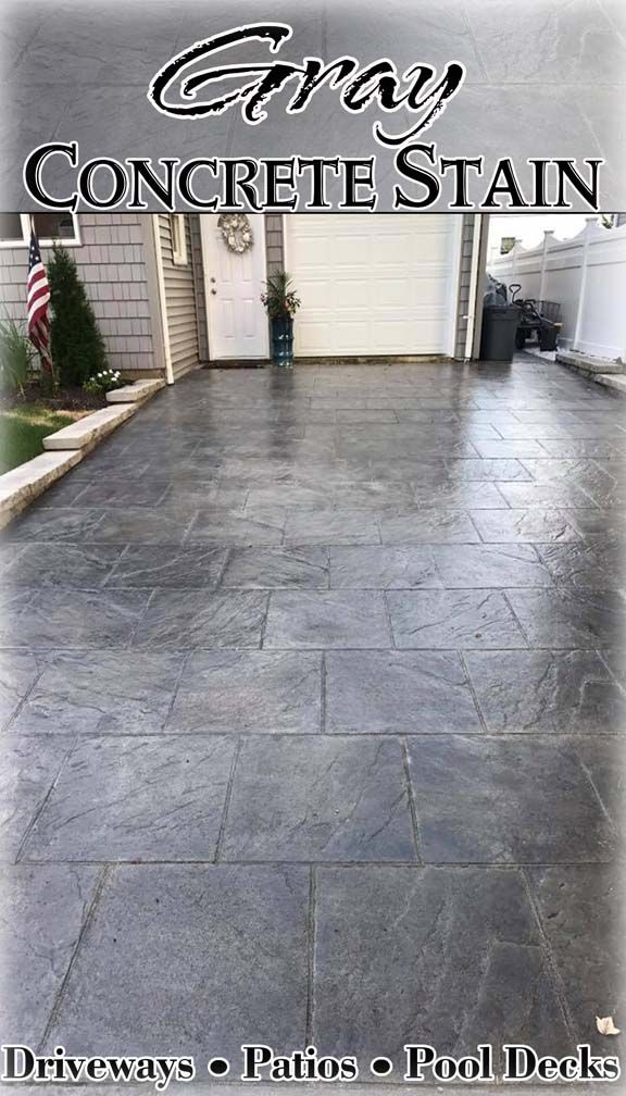 We Ve Got The Gray Concrete Stain You Re Looking For Refinish Your Existing Or Color A New Slab With Using Dci Liquid Colored Antique