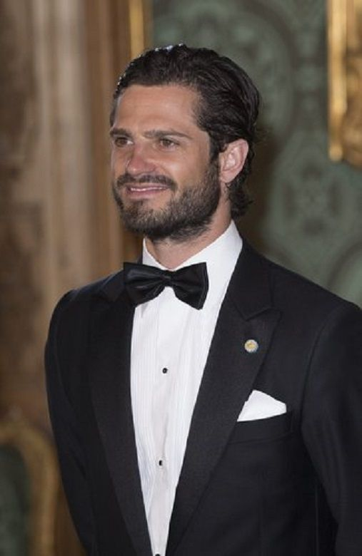 Swedish Prince Carl Philip during Sweden dinner at Royal Palace of Stockholm, 2014-05-16 | World ...