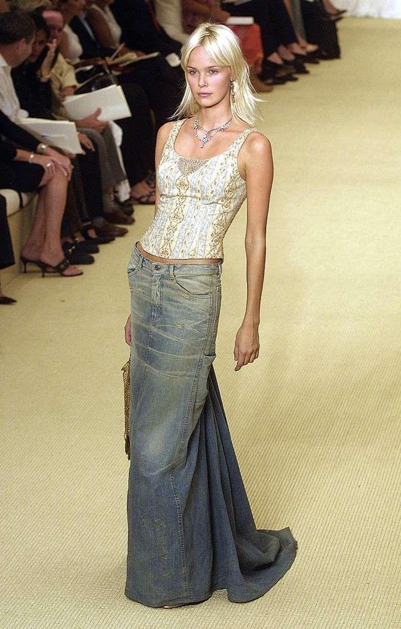 hot sale online 53d86 d64df Gonna di jeans: tutti i modelli - Gonna di jeans lunga ...