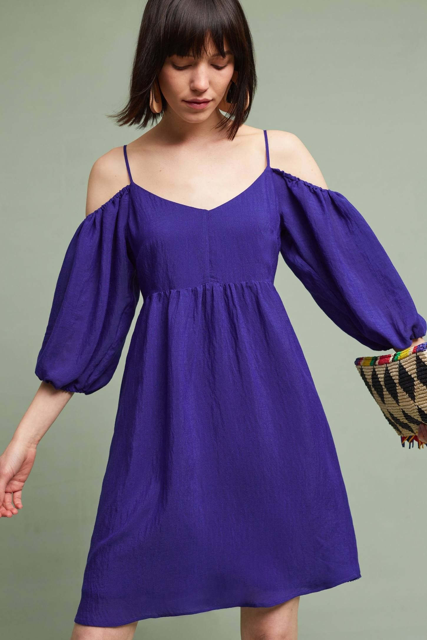 Slide View: 1: Carina Open-Shoulder Dress | Looking Good | Pinterest