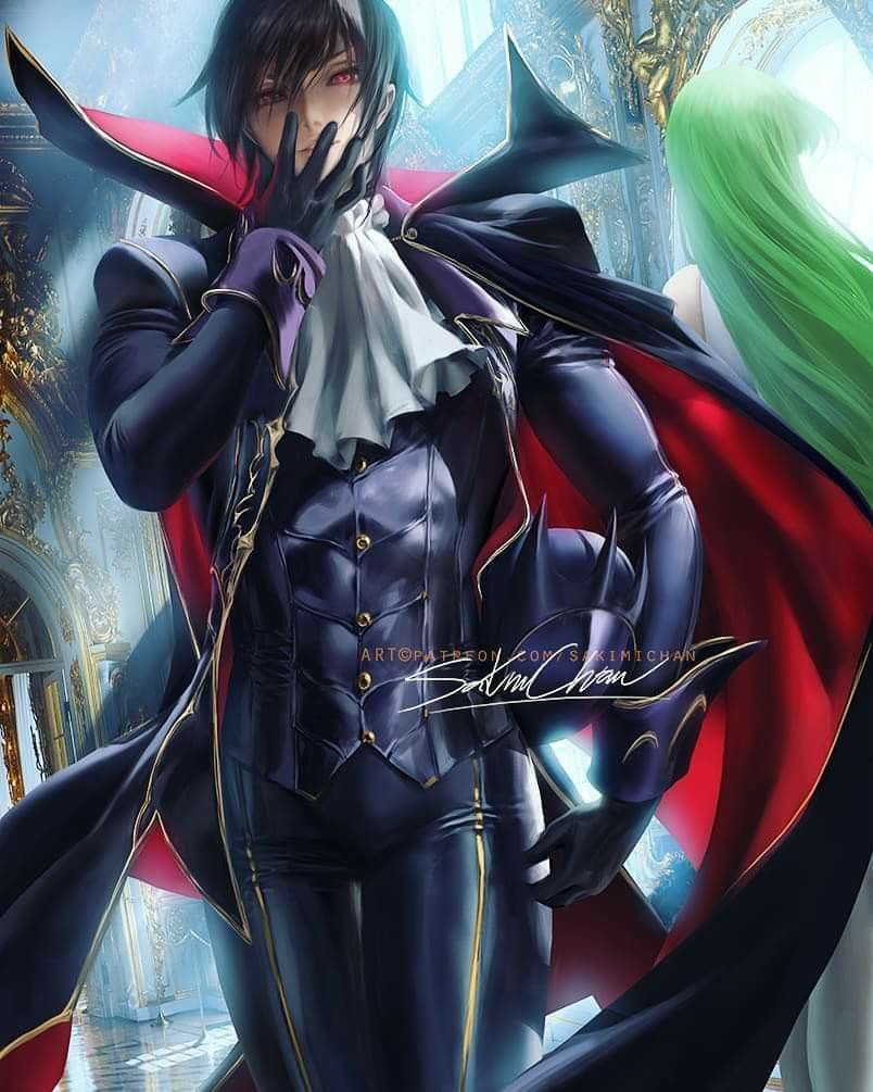Sakimichan Lelouch and C2