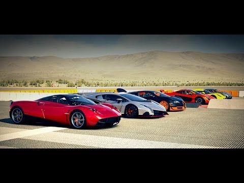 World's Greatest Drag Race! Veyron, AGERA, McLaren P1, Huayra ...