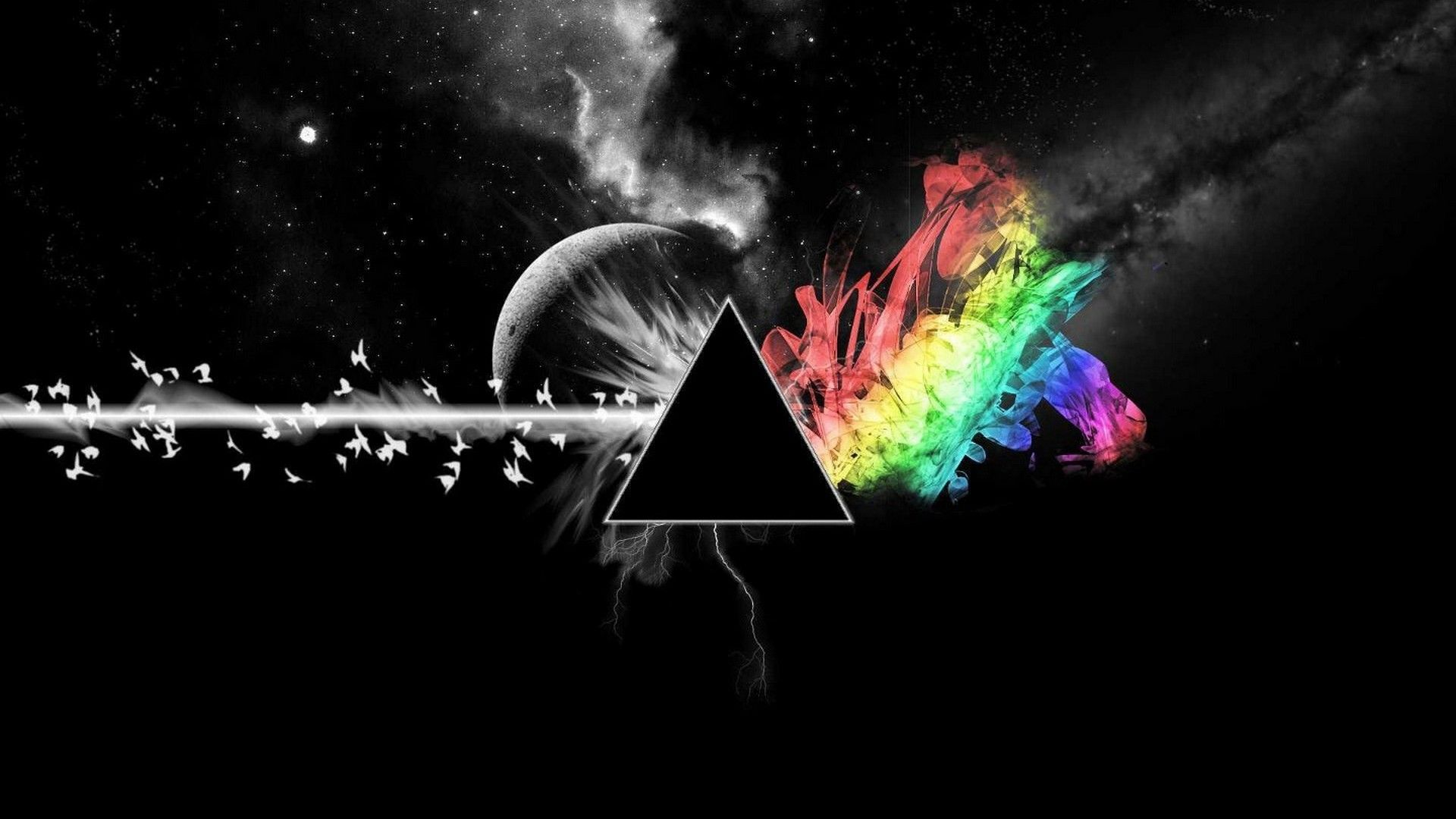 The best Dark Side of the Moon wallpaper I have ever seen