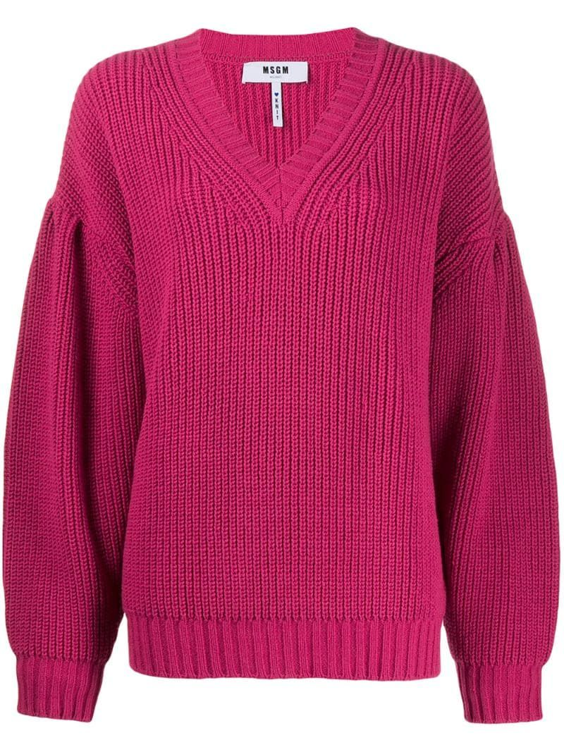 MSGM chunky knit jumper - PINK #chunkyknitjumper