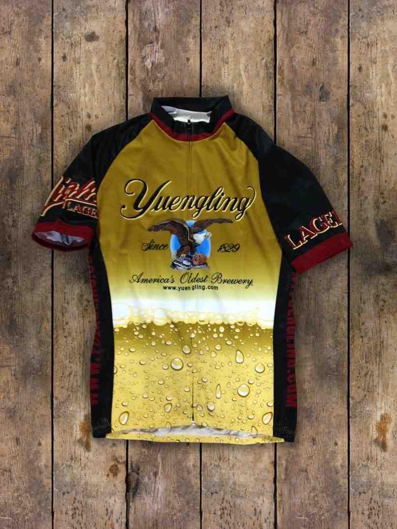 Yuengling cycling jersey