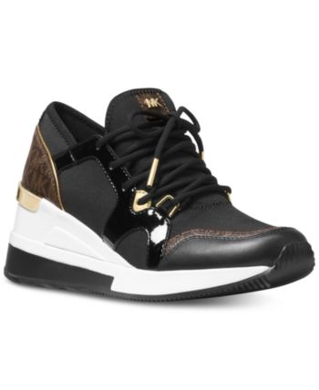 bbbcfe5a167bf Michael Michael Kors Liv Trainer Sneakers - Black