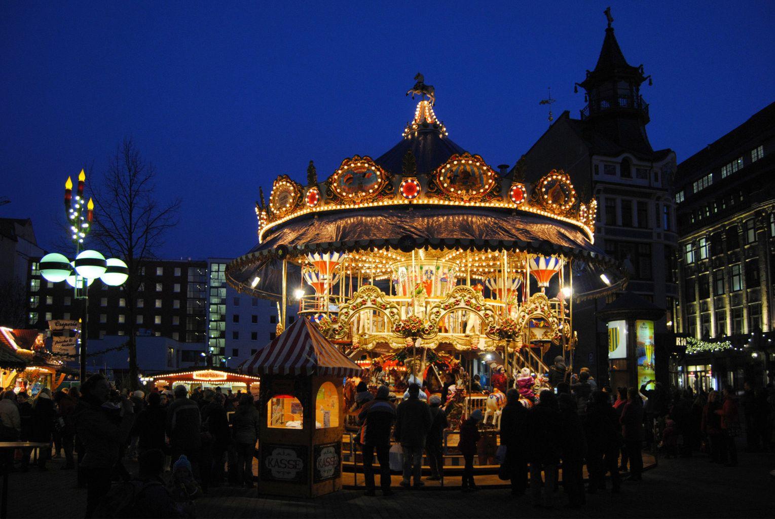 Leipzig Christmas Market - Copyright Andreas Schmidt. All the best Christmas Markets are on @ebdestinations #Christmas #xmas #travel #Europe #Leipzig