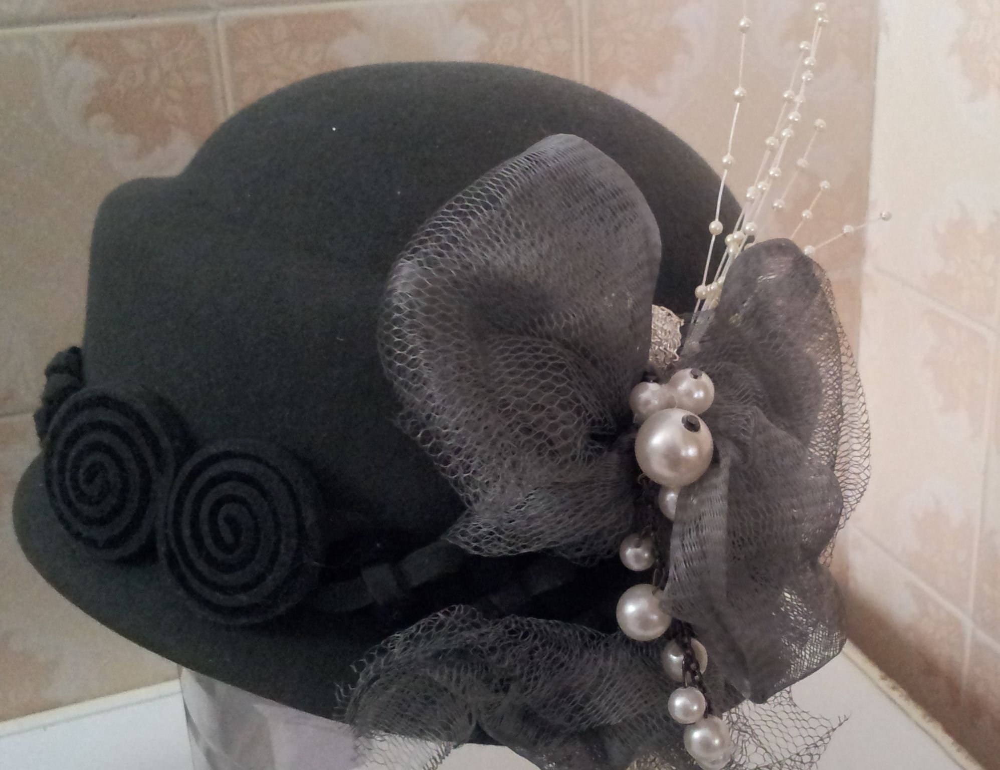 Love this one I also took a plain hat and made it look great...so my friend could wear it.