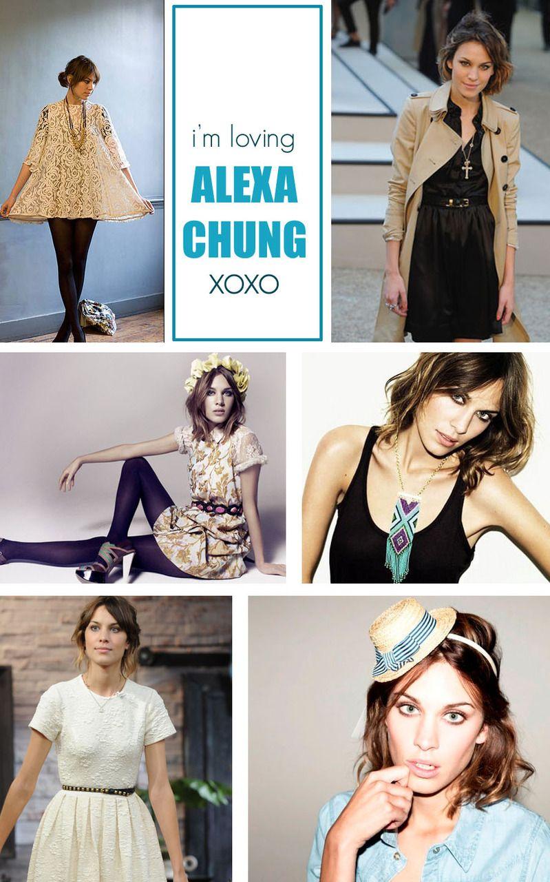 Alexa Chung - Everyday Super Hero!
