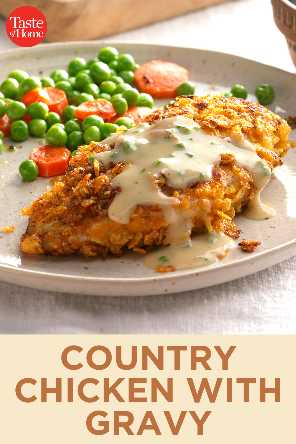 Country Chicken With Gravy Recipe Soul Food Dinner Country Chicken Recipes