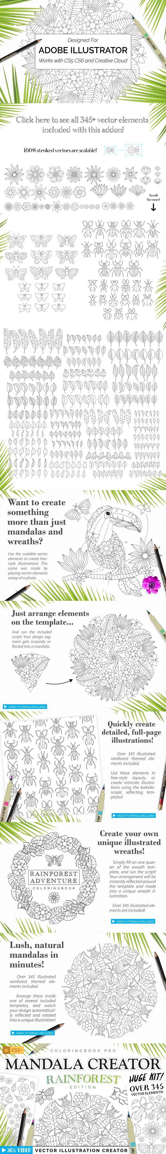 Rainforest Illustration Creator  Plugins | Plugins