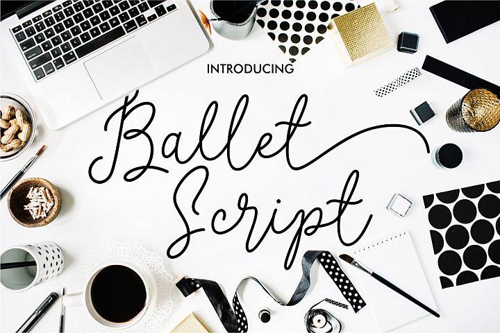 Ballet Script from FontBundles.net