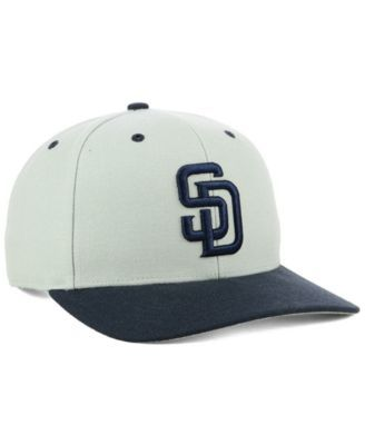 f02e87646c 47 Brand San Diego Padres 2 Tone Mvp Cap - Gray Adjustable ...
