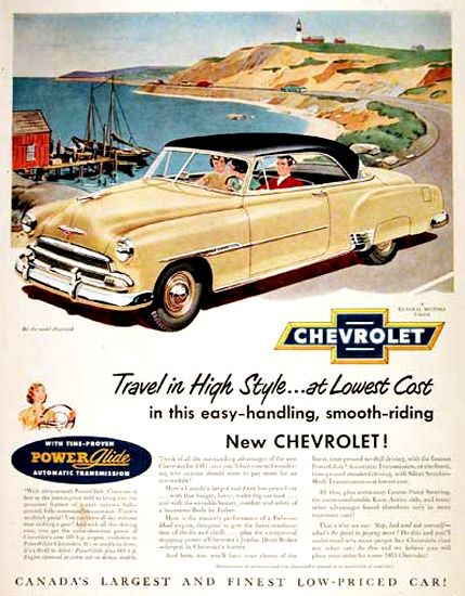 Chevrolet Belair 1951 Cream Power Glide Old Classic Cars