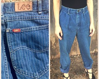 pin striped jeans vintage