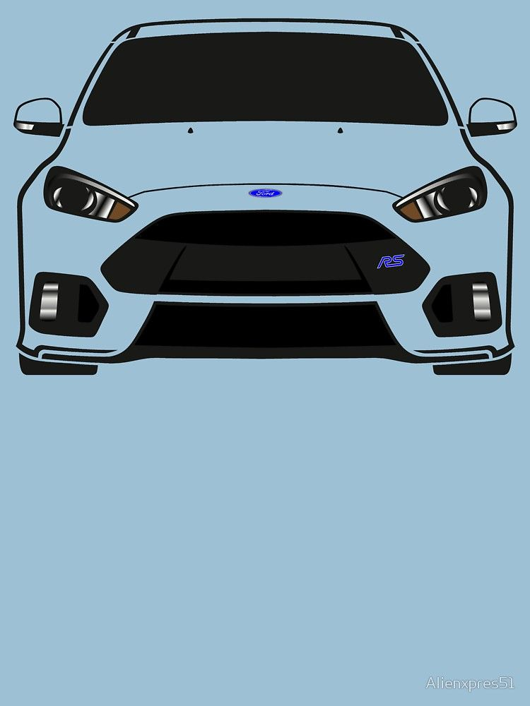 Ford Focus Rs Essential T Shirt By Alienxpres51 In 2021 Ford Focus Ford Focus Rs Focus Rs