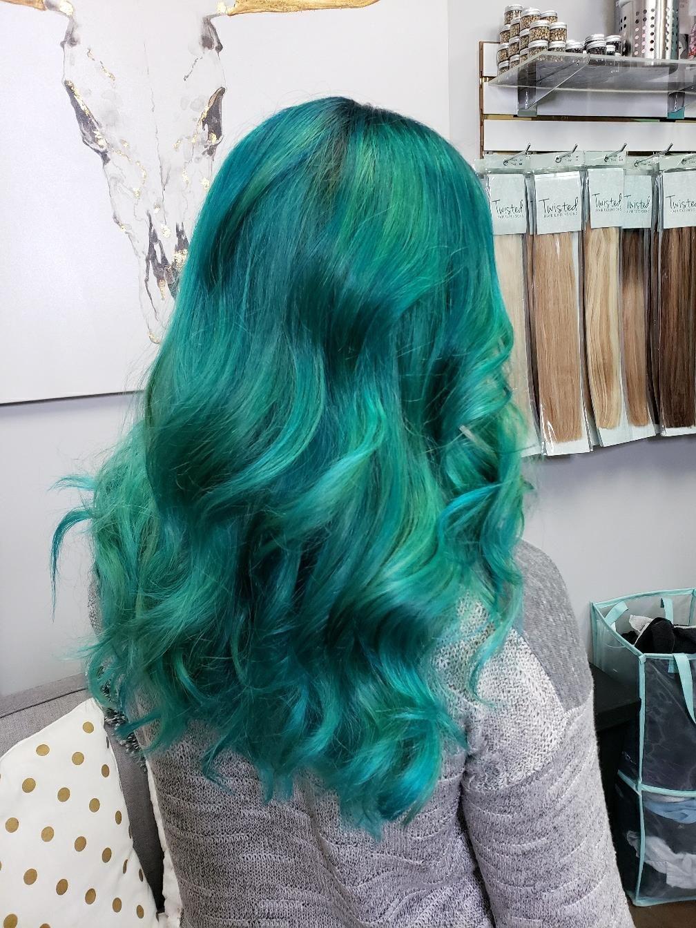 Pin on Green Hair Ideas & Styles