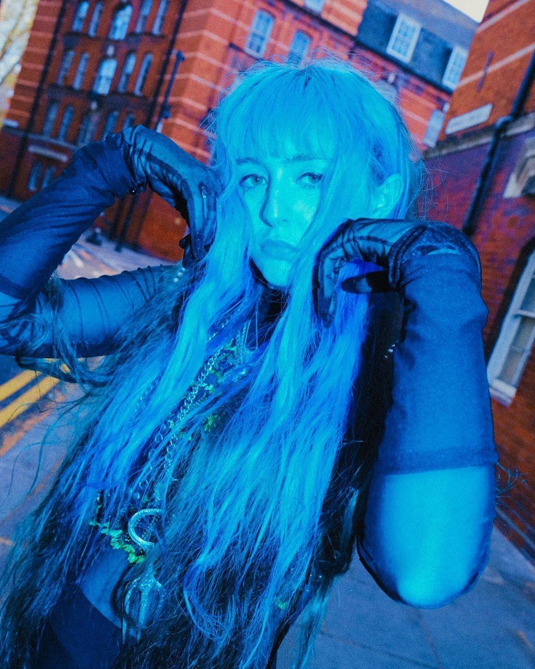 Pin by Angel Draak on Ashnikko Aesthetic people, Blue