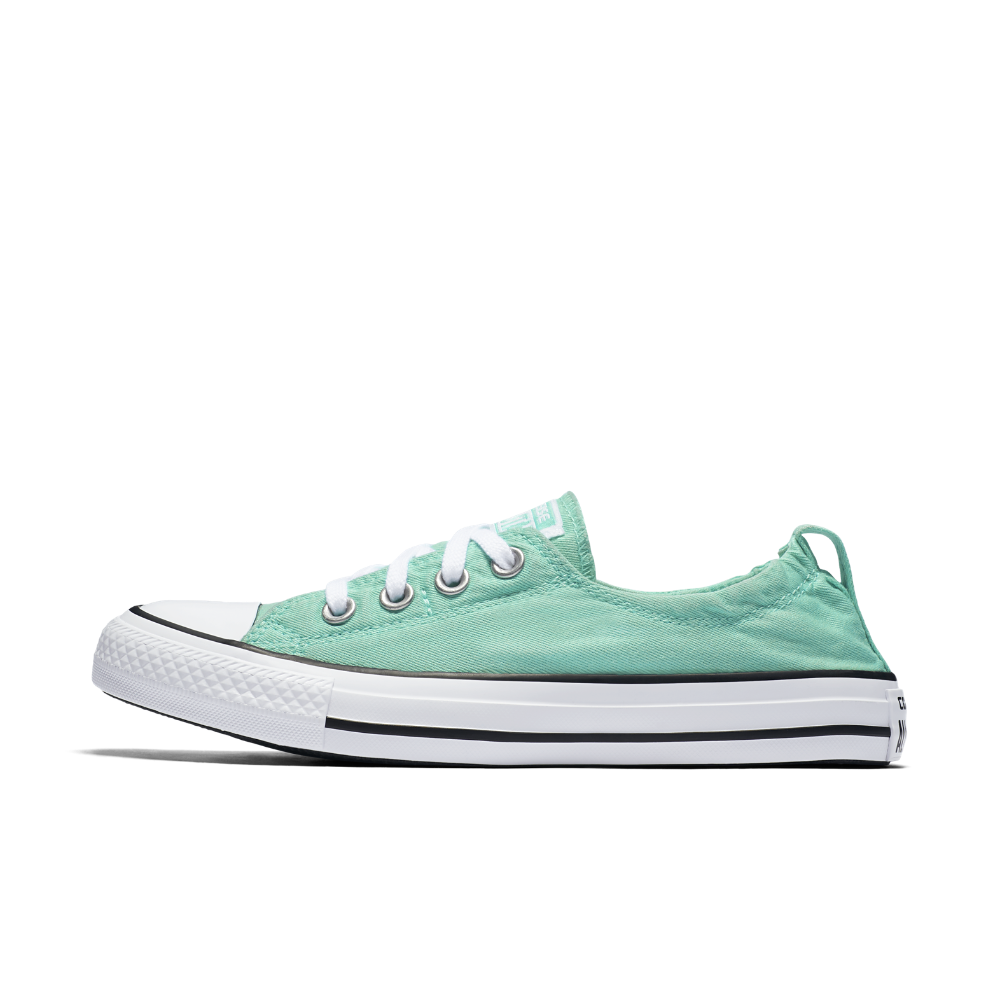 8afac9adc2c Converse Chuck Taylor All Star Shoreline Women s Slip-On Shoe Size 7.5 ( Green) - Clearance Sale