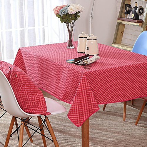 Tablecloth Cotton And Linen Canvas Modern Simple Table Cloth Table Cloth A 140x200cm 55x79inch Luxury Appliances Simple Table Table Cloth