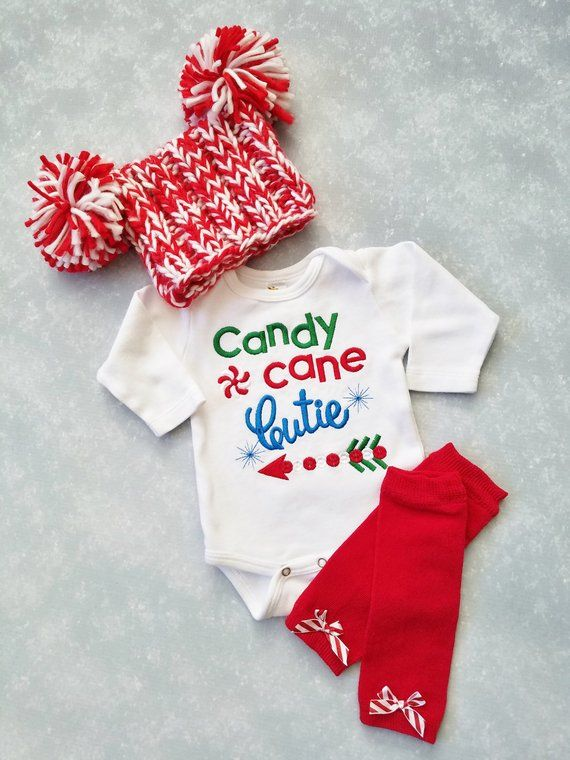 Baby Girl Christmas Outfit Baby Girl Romper Baby Girl First