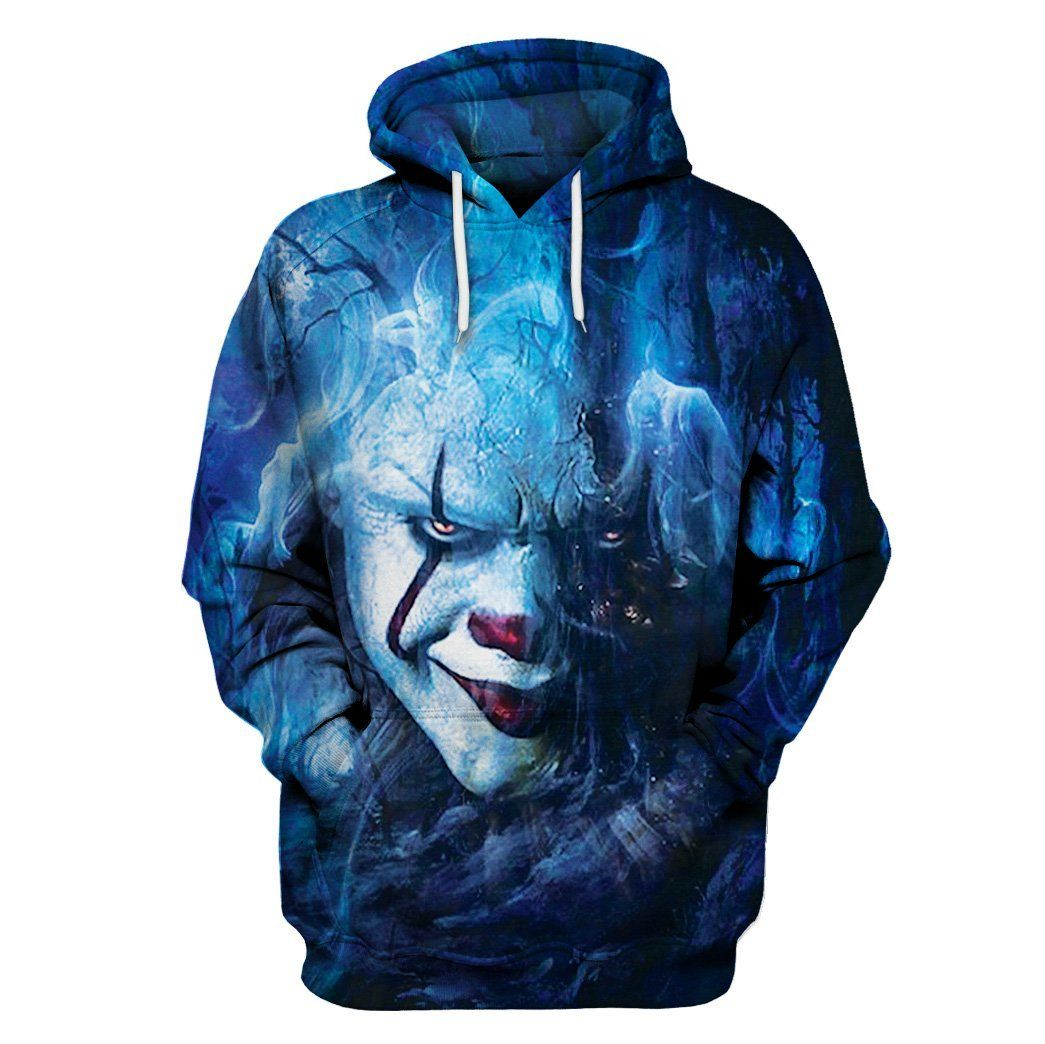 Men's Clothing New Movie It Pennywise Clown Stephen King 3d Print Hoodies Horror Movie Hoodycosplay Tracksuit Sportswear Sweatshirt