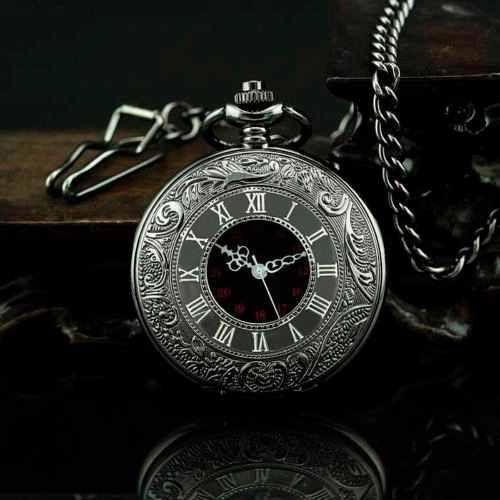 77702ba42e6 Encontre Relogio De Bolso Steampunk Preto Com Corrente Retro Vintage -  Relógios De Bolso no Mercado Livre Brasil. Descubra a melhor forma de  comprar online.