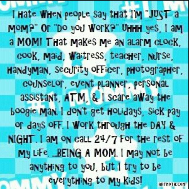 just a mom