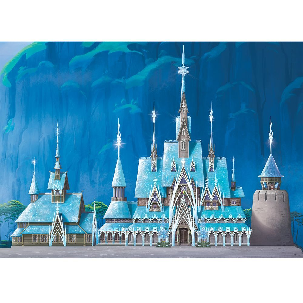 Frozen Castle Puzzle By Ravensburger Disney Castle Collection Limited Release Shopdisney In 2020 Disney Castle Frozen Castle Castle In The Sky