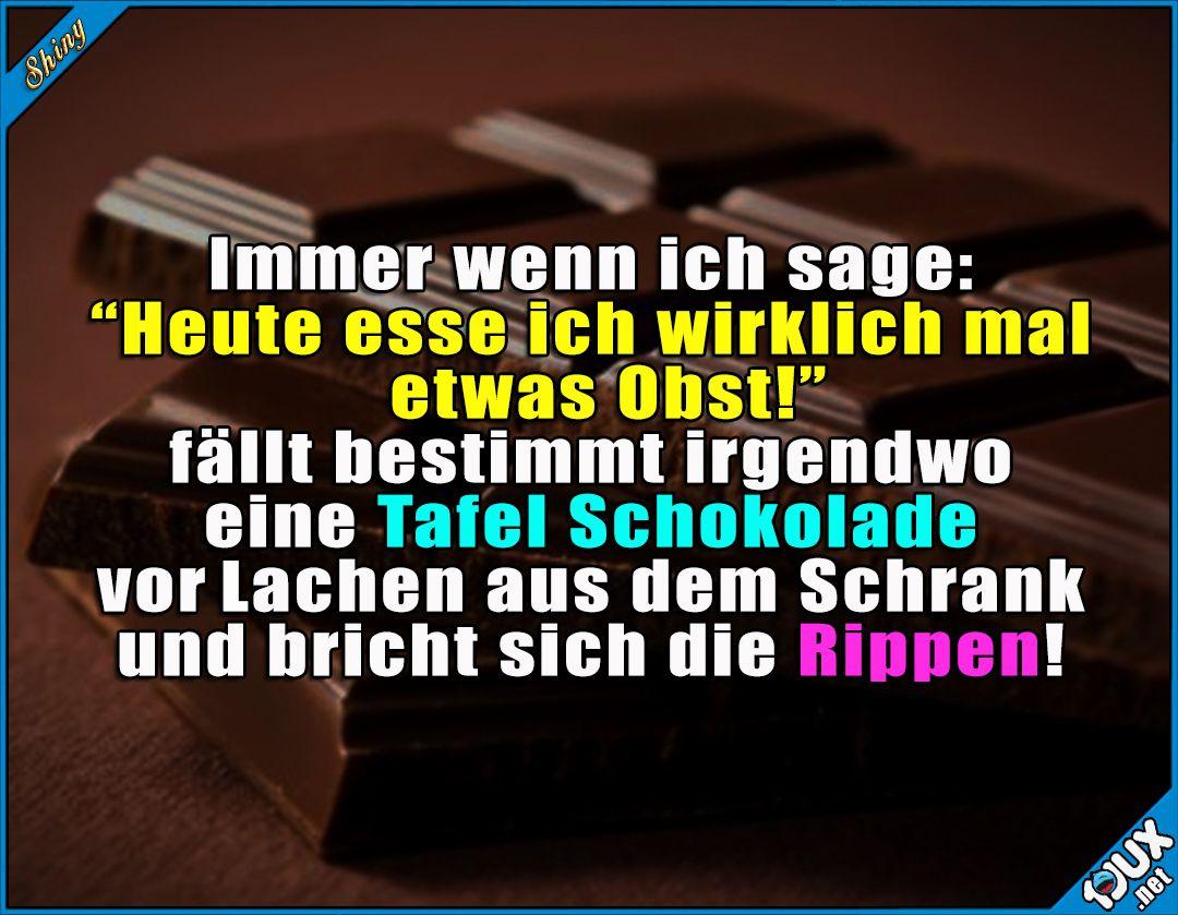 Ich und Obst? ^^ Lustige Sprüche #Humor #Jodel #1jux # ...