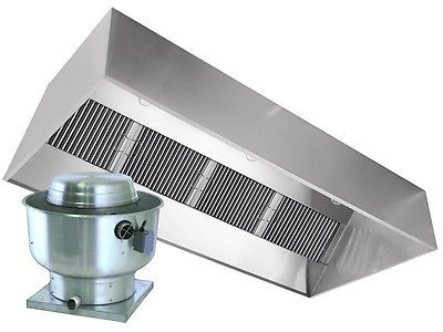 Restaurant Hood With Exhaust Fan 6ft Exhaust Only Vent Hood For