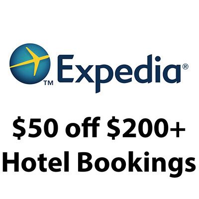 Expedia Is Offering A 50 Off Qualifying Hotel Booking Of 200 Or