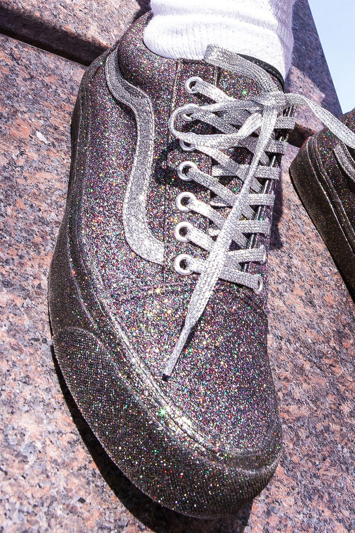 Vans for Opening Ceremony, Glitter OG Old Skool LX Sneaker