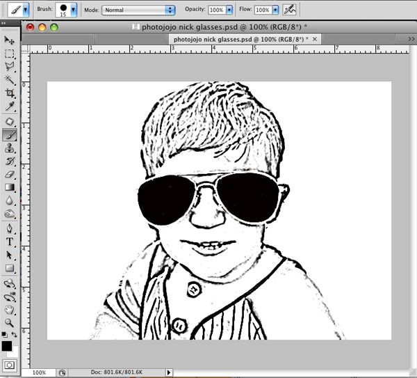 Coloring Book Photoshop It Helped Me To Turn It Greyscale First