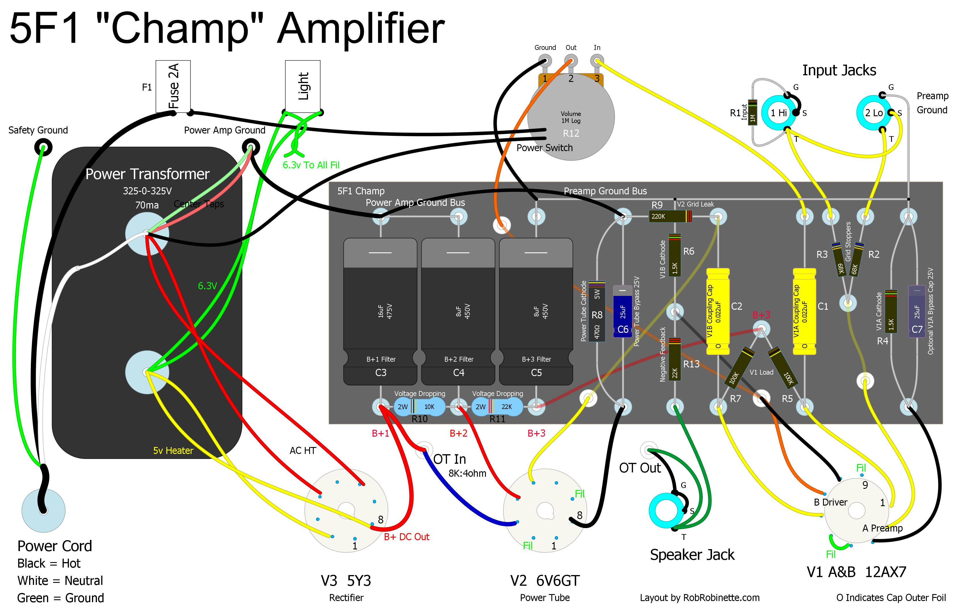 how amps work techie in 2019 diy guitar amp diy amplifier guitar amp. Black Bedroom Furniture Sets. Home Design Ideas