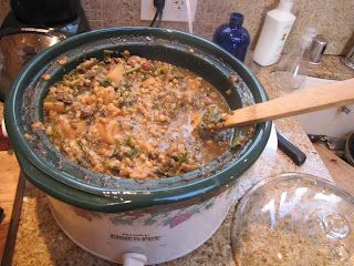 Homemade dog food stew to help with arthritis aches in dogs.. Will try with my 10 year old, 2.5 pawed dog and see how she does.