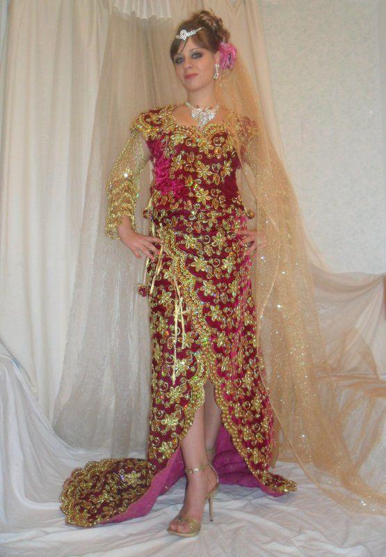 Robe de soiree mariage algerien