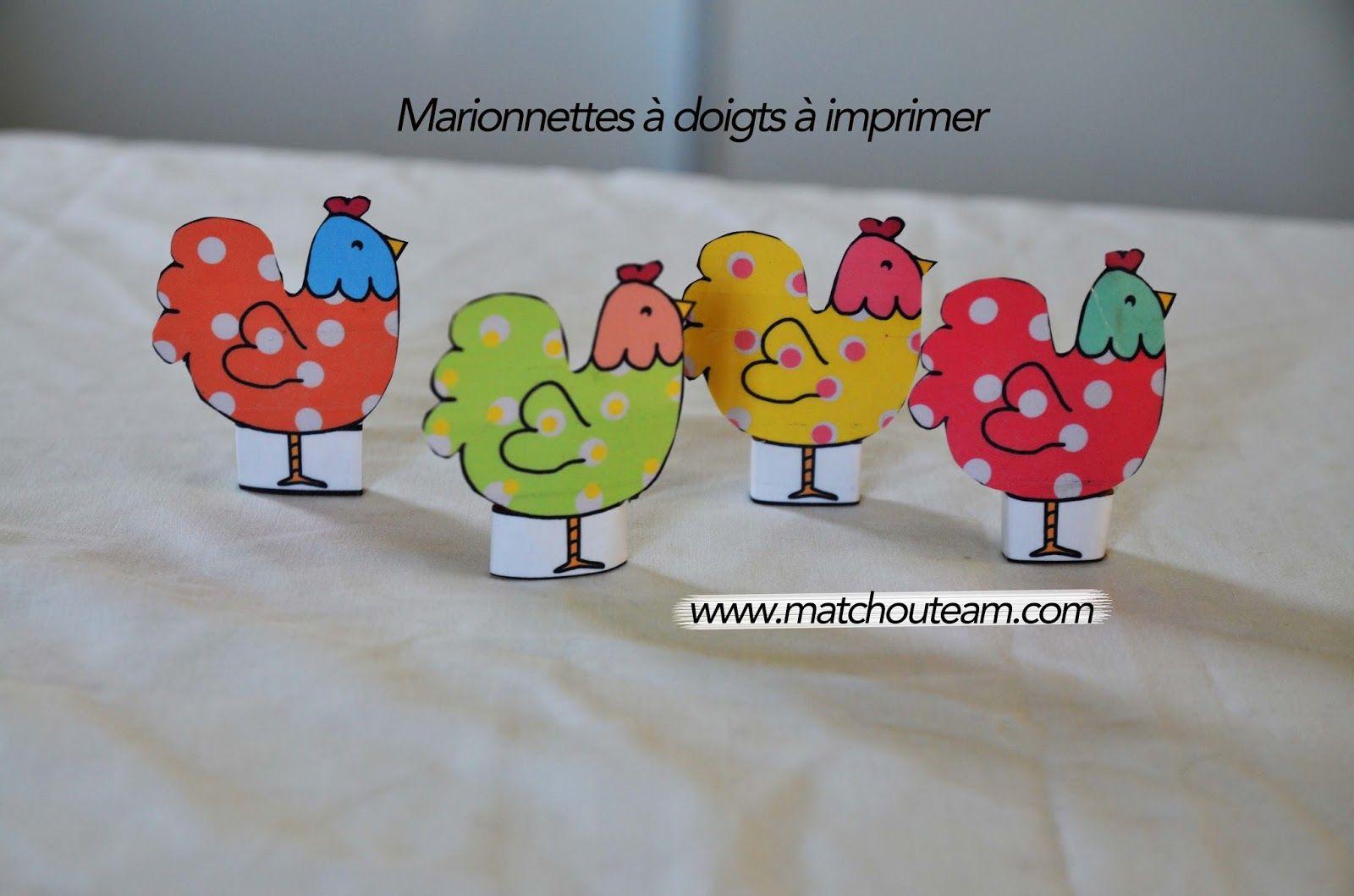 comptine une poule sur un mur les marionnettes doigts pour les comptines avec des. Black Bedroom Furniture Sets. Home Design Ideas