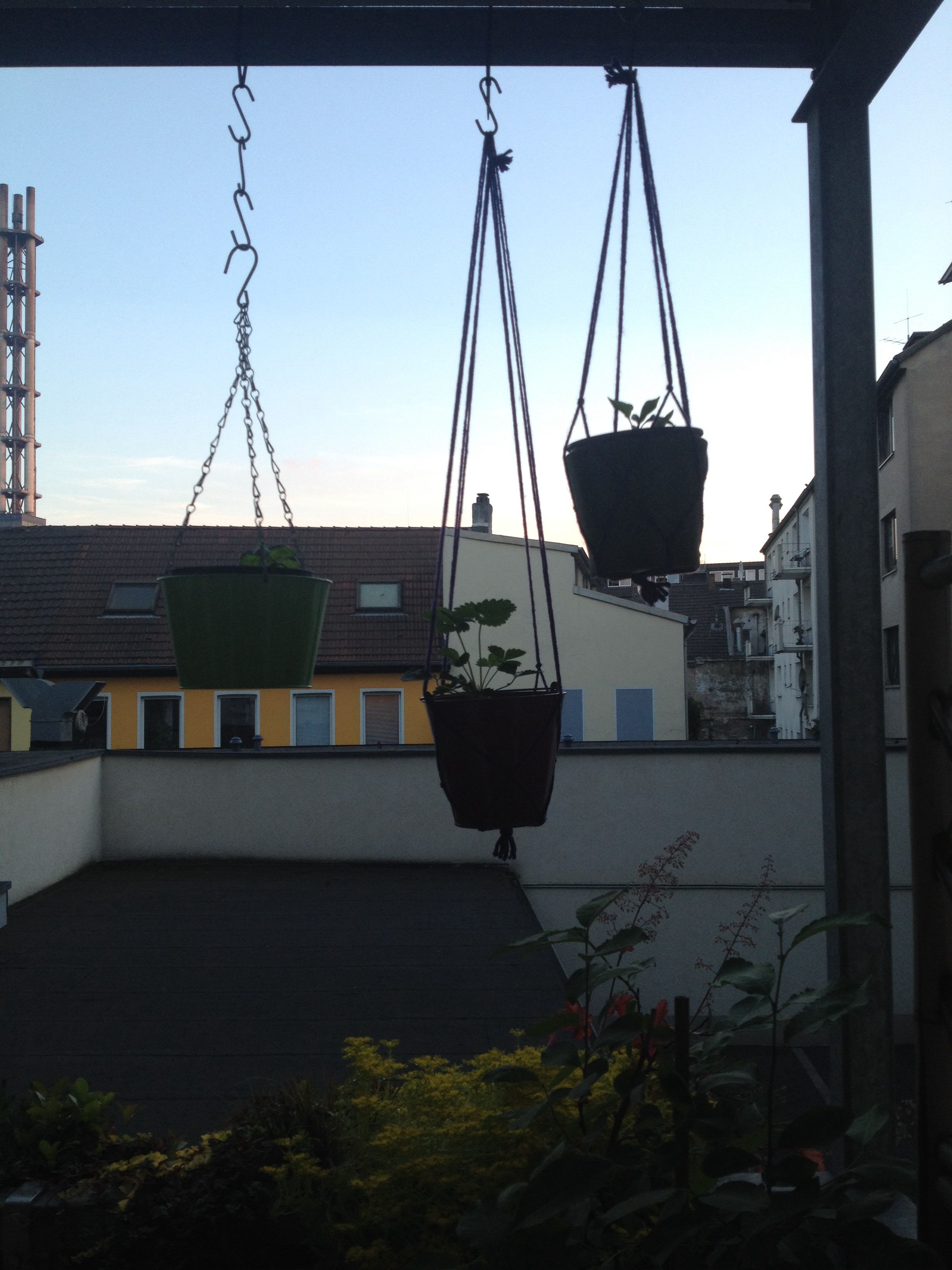Blumenampeln, Makramee, Outdoor, Balkon