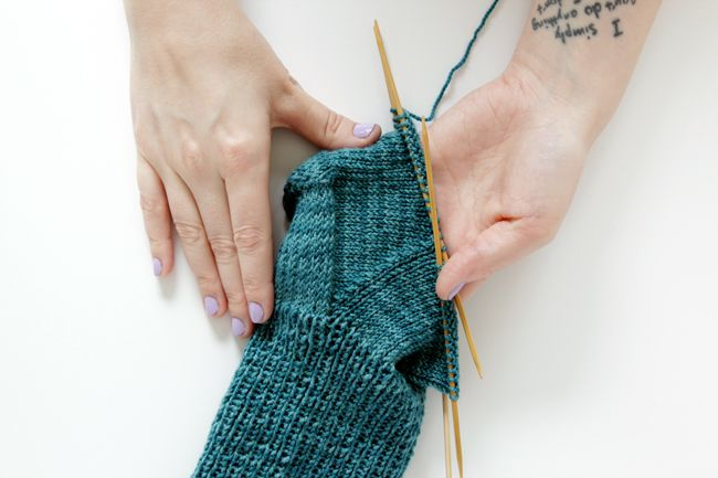 Hands Occupied gives some tips and tricks when your working on knitting the gusset of a sock.