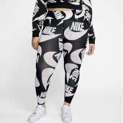 Photo of Nike Large Size – Sportswear Icon Clash Leggings With Print – Black Nike