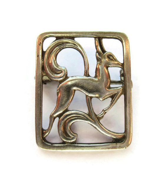 Vintage silver Viking stick pins hat pins