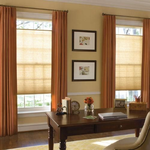 Accordia light filtering cellular shade window window for Room darkening window treatments ideas
