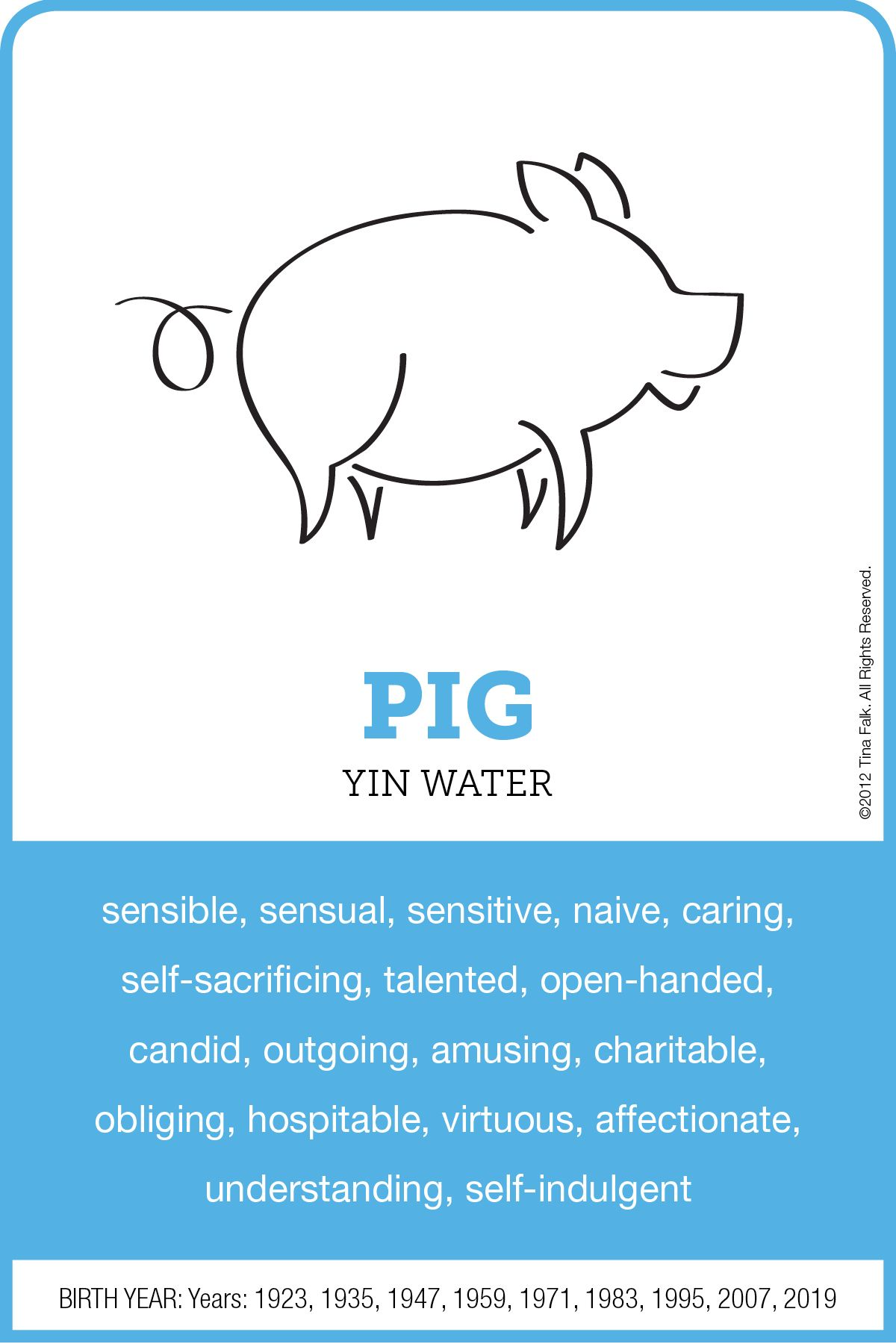 Chinese year of the pig characteristics