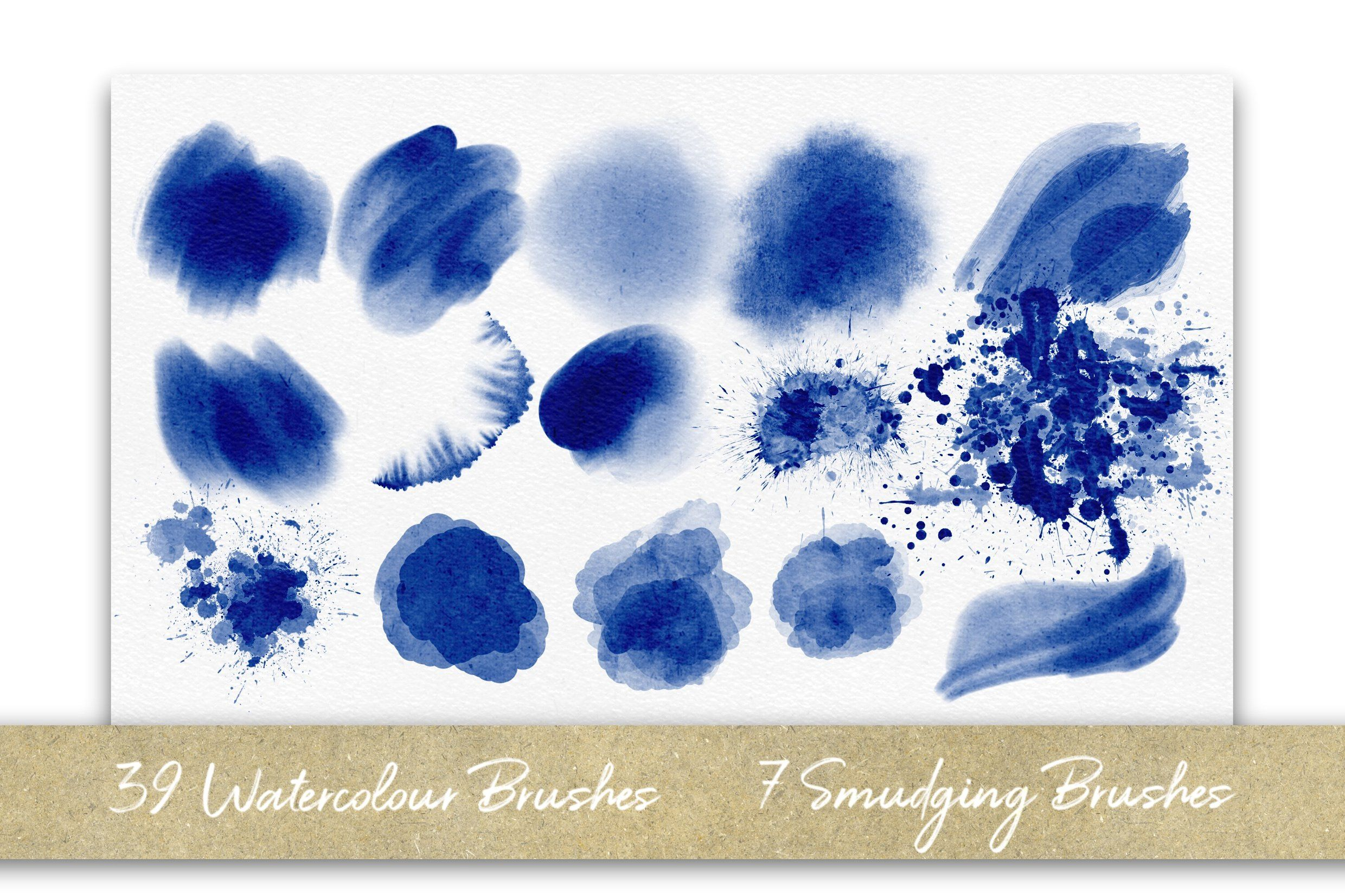 Procreate Watercolour Bumper Pack Actions Brushes Gradients