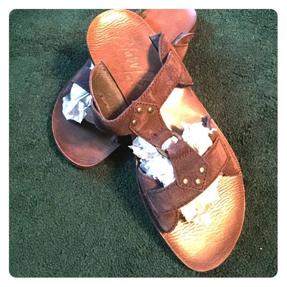 1f37c96465d4d Brown slip on summer sandals Perfect flaps for everyday wear or for going  to the beach! Slip on and go! Blowfish Shoes Sandals